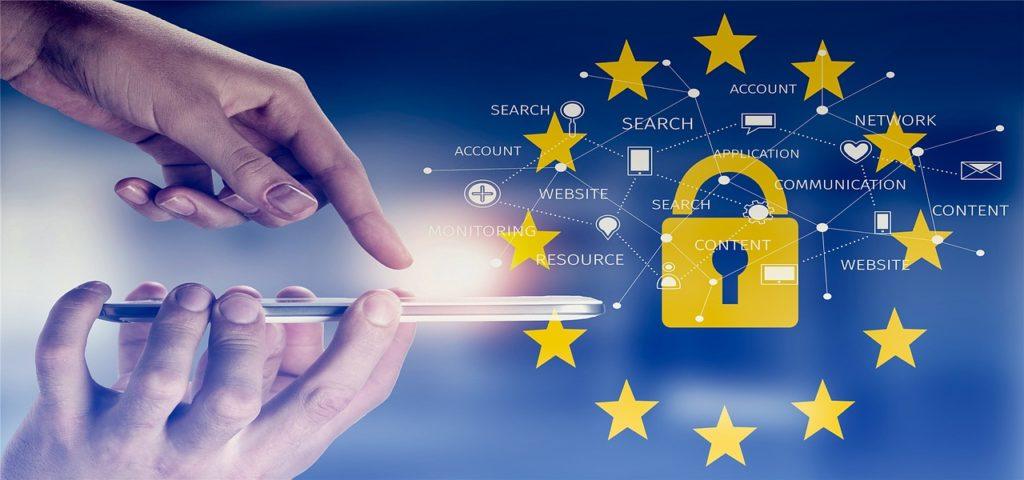 Datenschutzsymbol EU