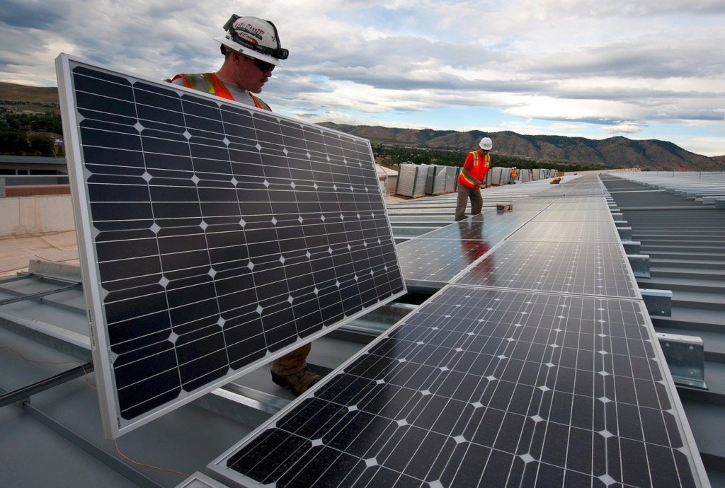 Klimapolitik - Photovoltaikpanele