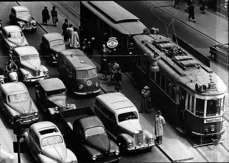 Verkehr in Wien in den 1960ern