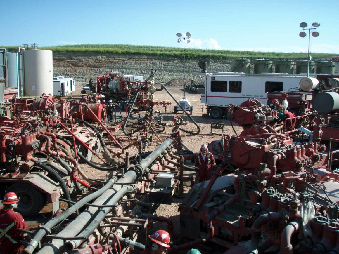Hydraulisches fracking