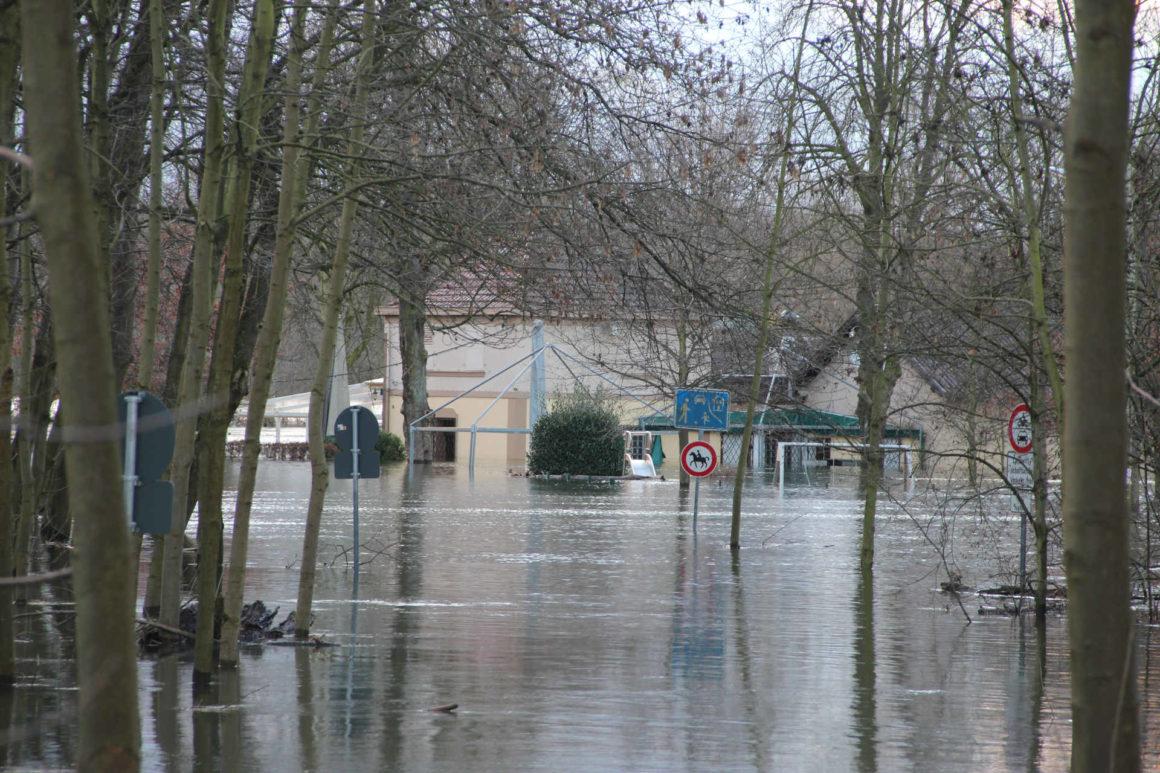Überschwemmung in Deutschland