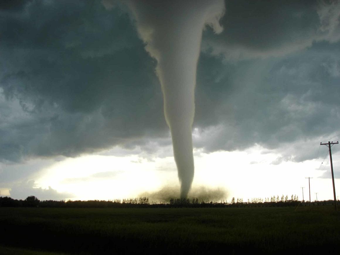 Tornado in Manitoba