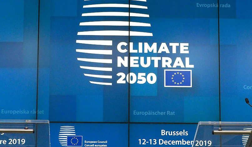 Klimaneutralität 2050 European Green Deal - Konferenz Europäischer Rat