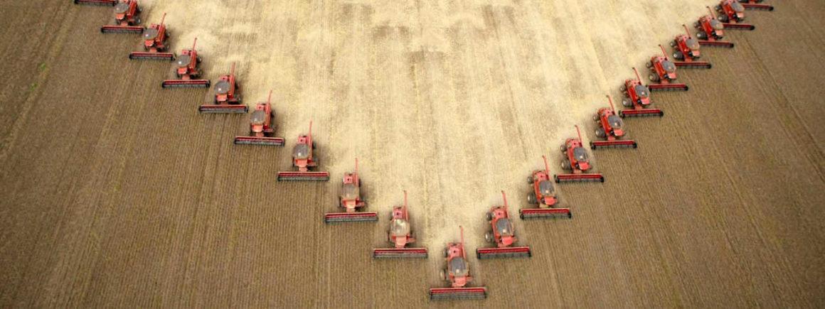 Industrielle Agrartechnik - Der Widerspruch zwischen Hässlichkeit der Monokultur und Ästhetik der Maschinen