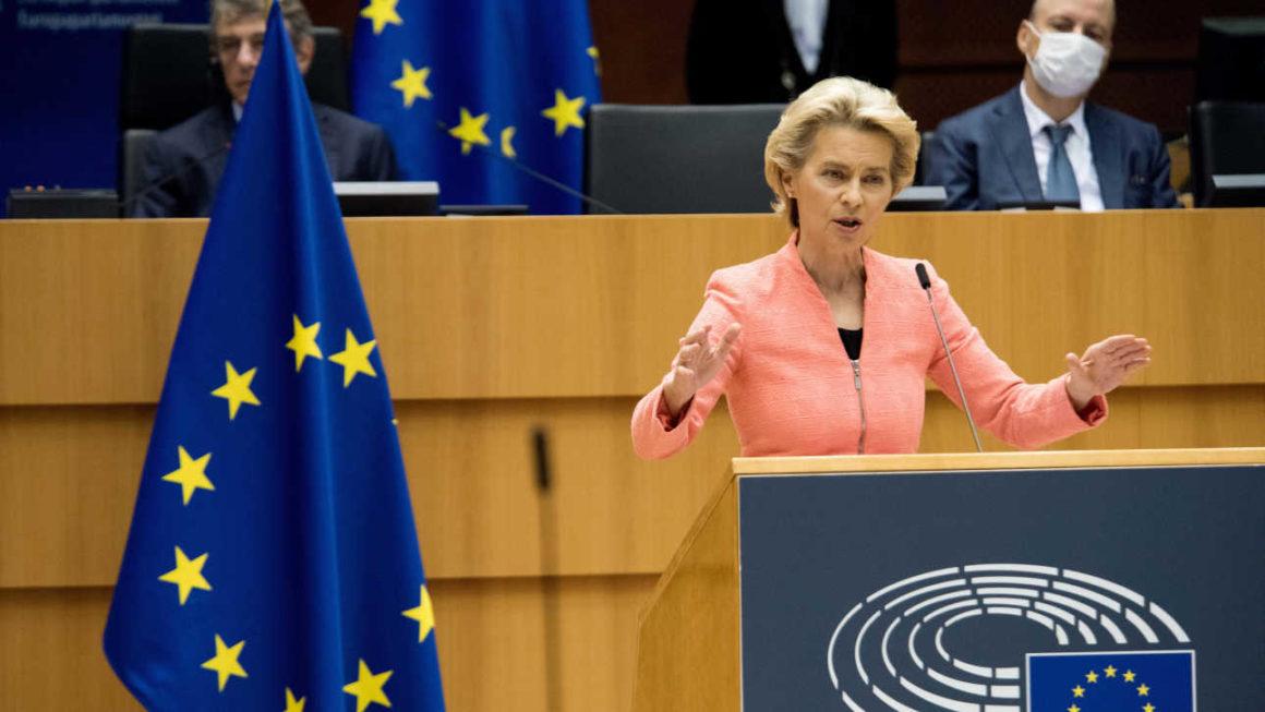 Neues europäisches Bauhaus - Ursula von der Leyen bei ihrer Rede zur Lage der Union 2020