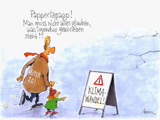 Klimawandelleugner