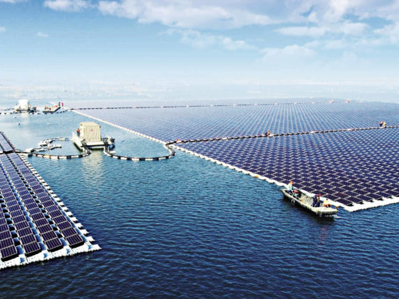 Photovoltaikanlage - schwimmend China