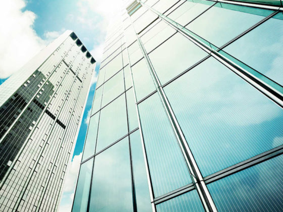 Solarzellen Duennschichtzellen für Fassaden