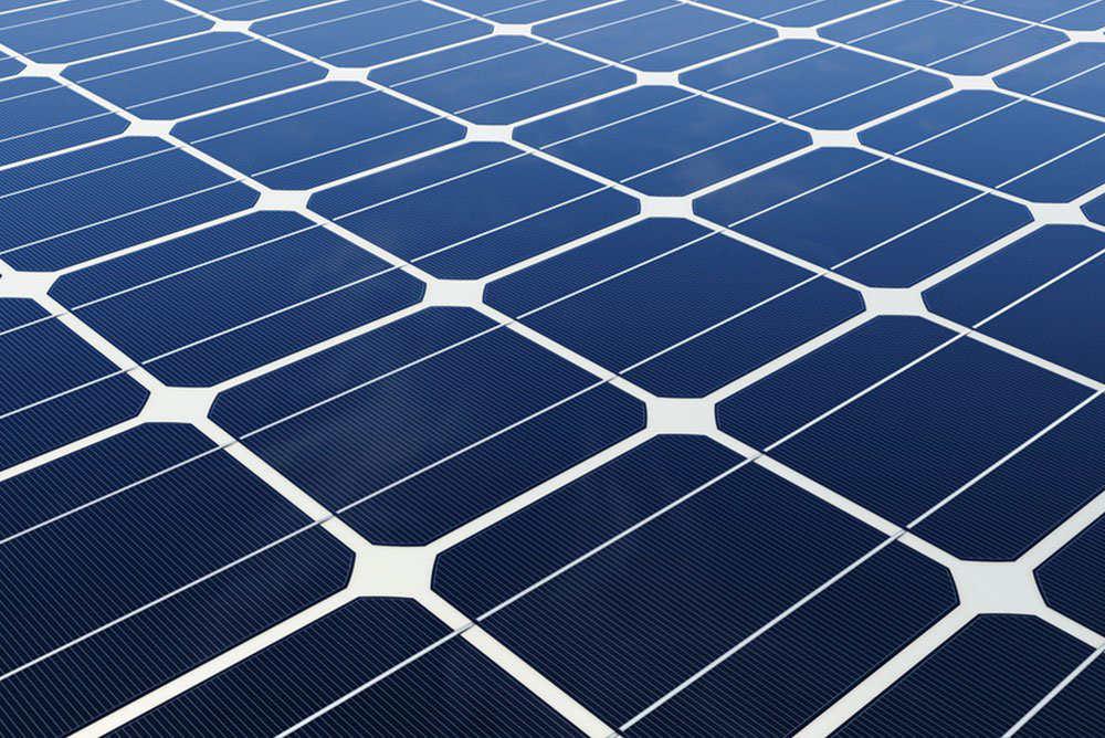 Solarzellen - aus monokristallinem Silizium
