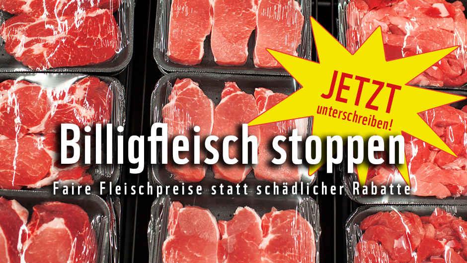 Billigfleisch Stoppen