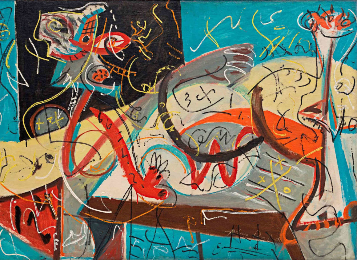 Jackson Pollock - Stenographic Figure